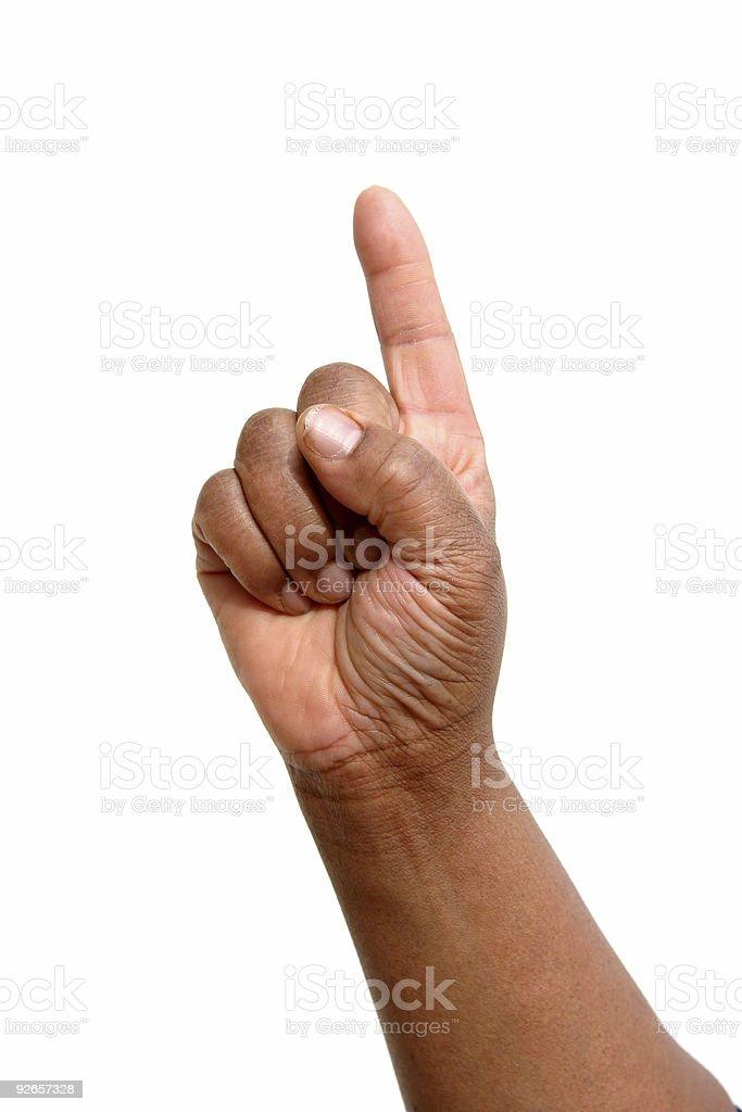 Hand 05 royalty-free stock photo