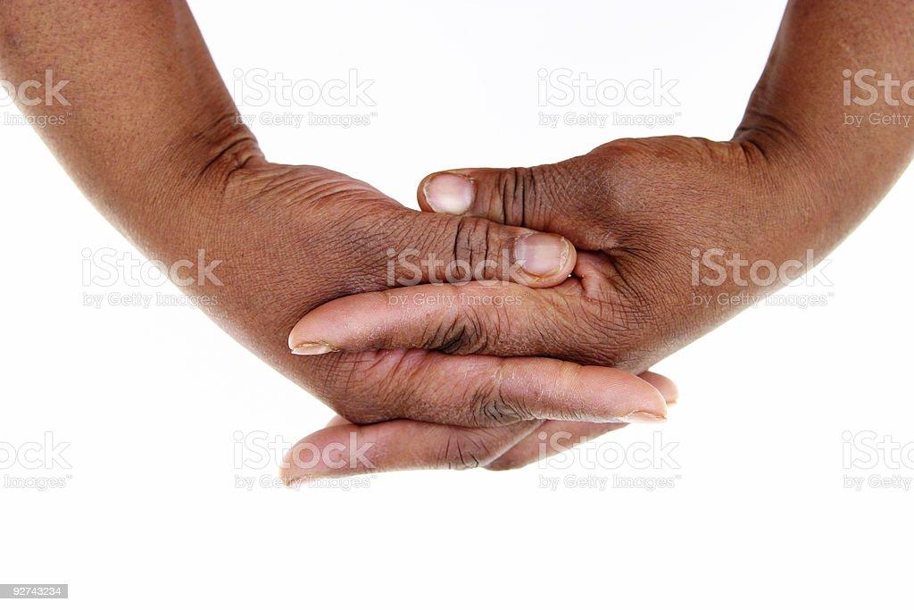 Hand 22 stock photo