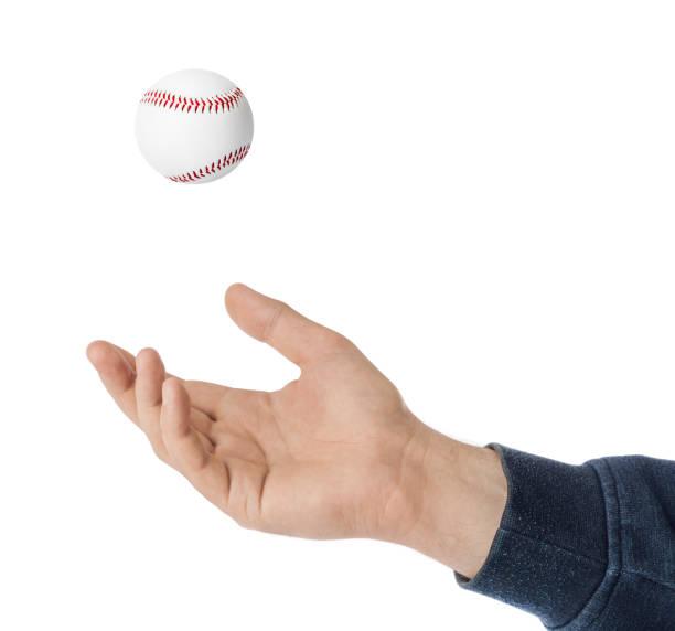 Hand- und Baseballball – Foto