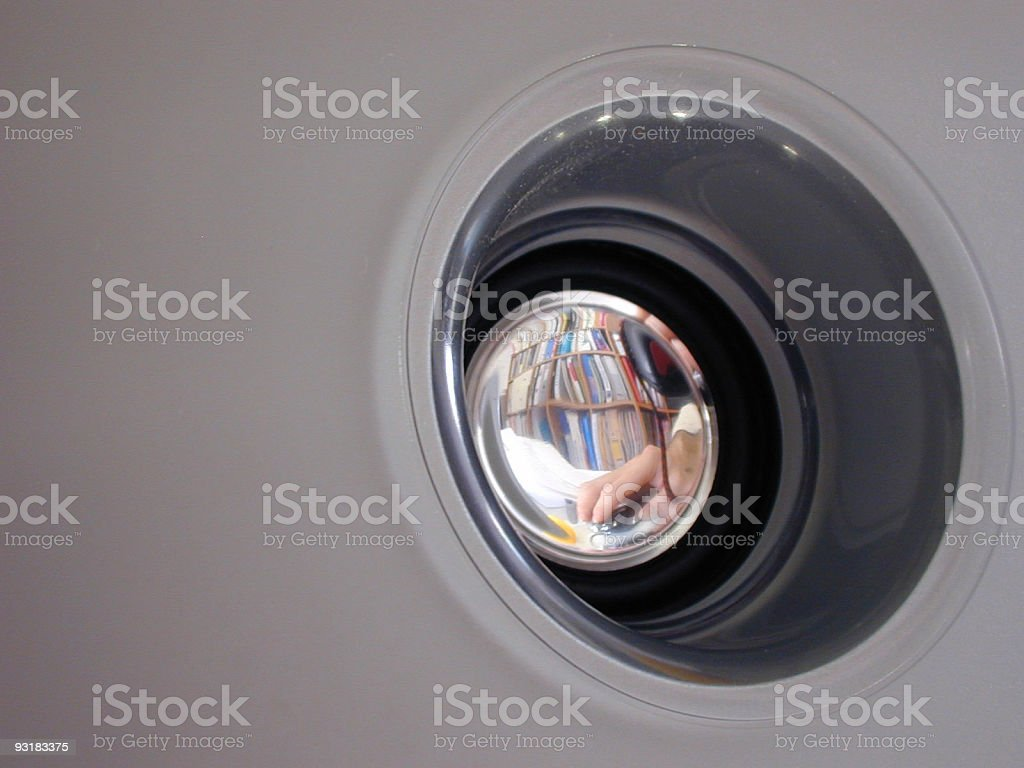 hand at work royalty-free stock photo