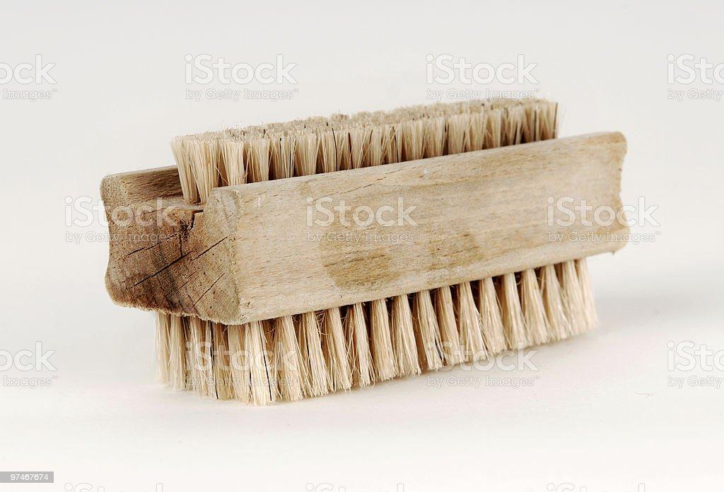 Hand brush royalty-free stock photo
