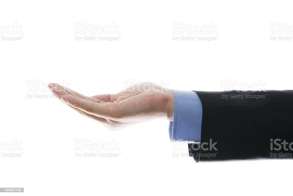 Hand businessman stock photo