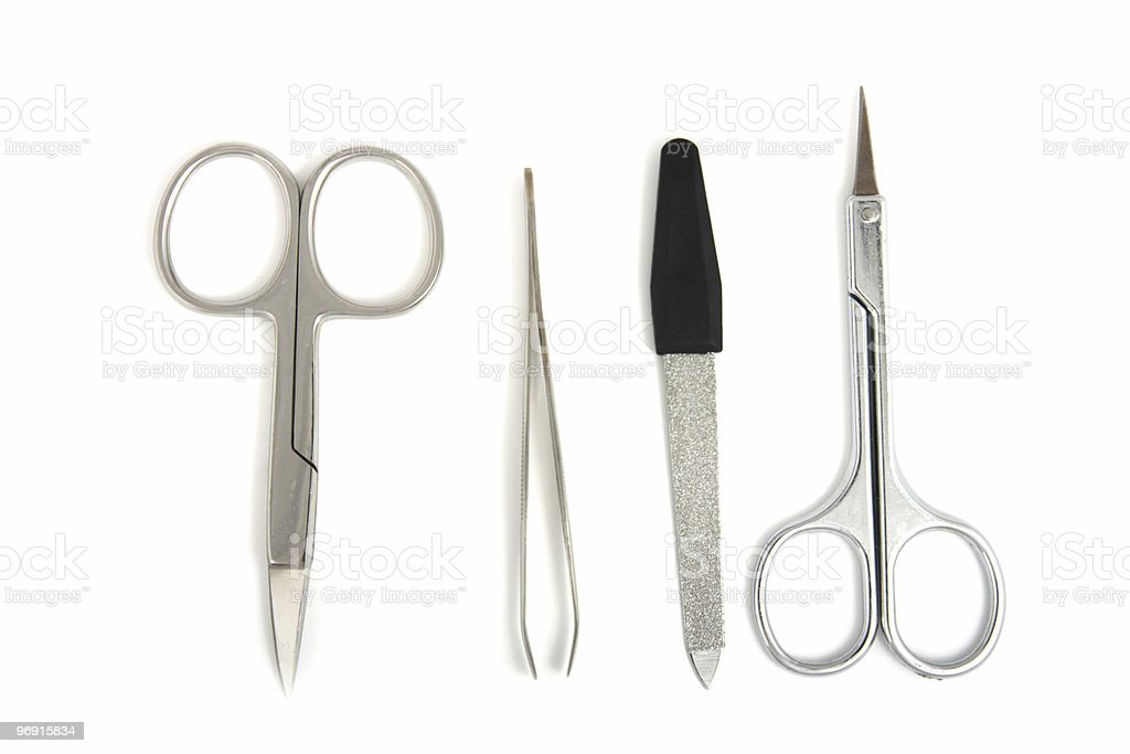Hand care tools royalty-free stock photo