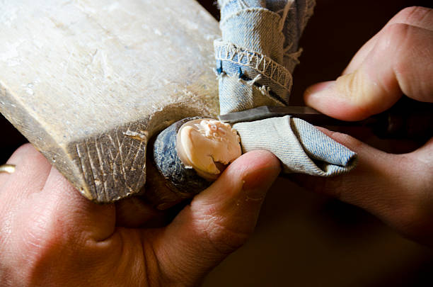 Hand Carving a Cameo
