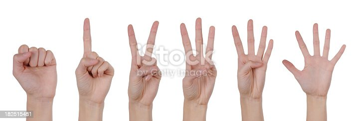 693519466 istock photo Hand Counting and Number Collection - XXXLarge 182515481