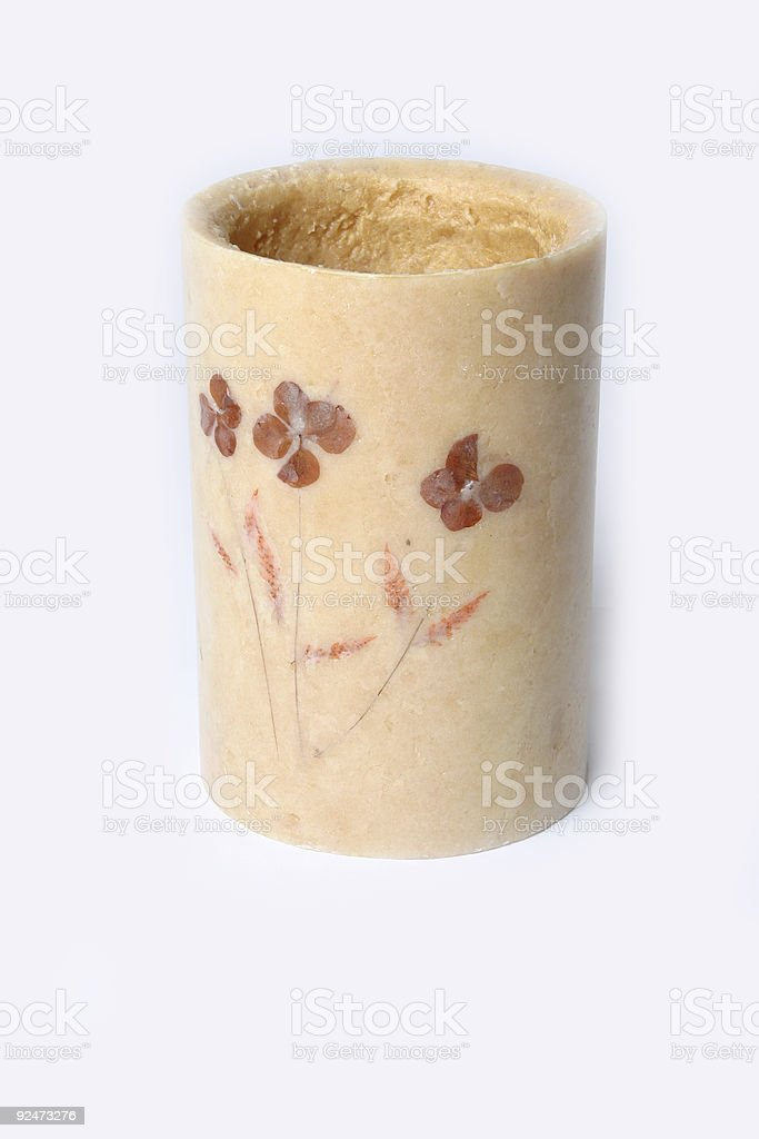 Hand crafted Candle royalty-free stock photo