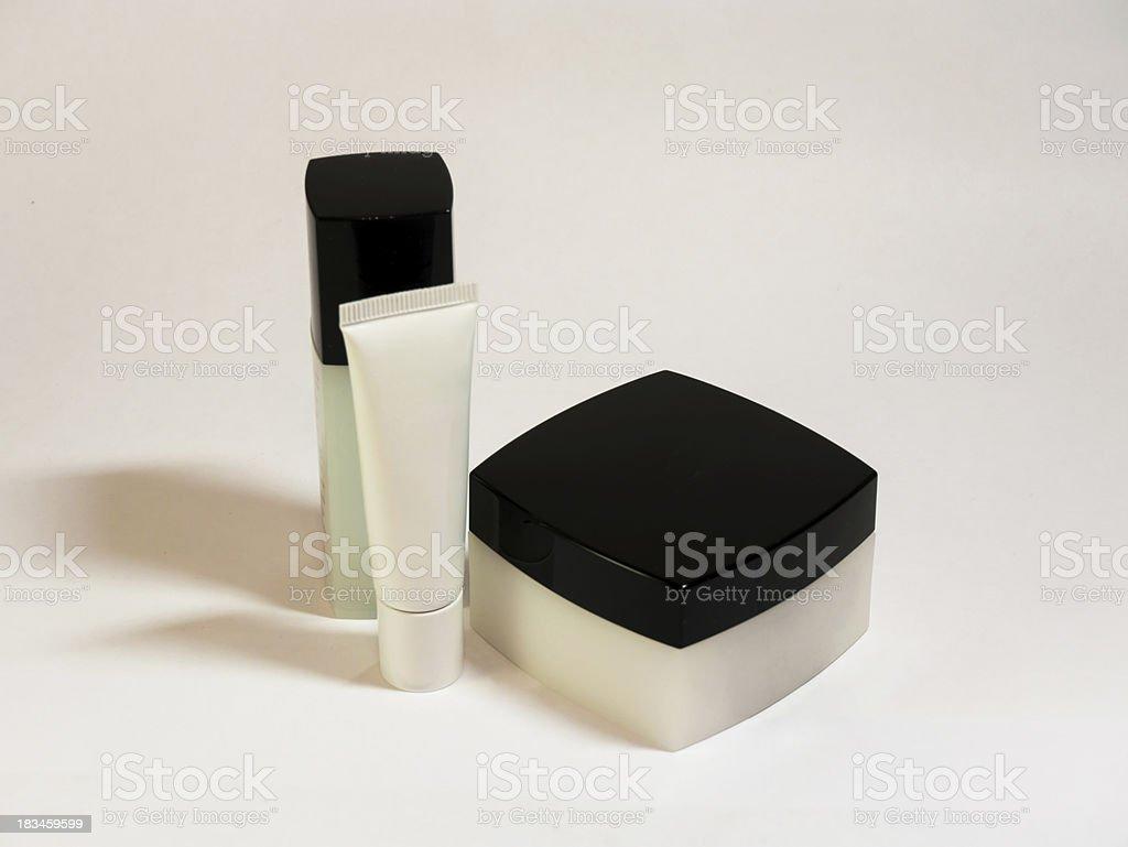 hand cream box set royalty-free stock photo