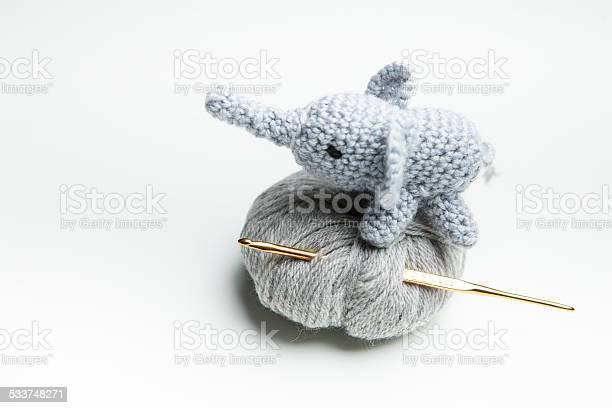 Hand crocheted elephant with wool crochet needle picture id533748271?b=1&k=6&m=533748271&s=612x612&h=gyspt3aefaf0onlzdkgipughmela3dhba13oyg7dvuy=