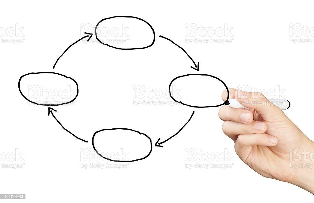 Blank Hand Diagram - Schematics Online on