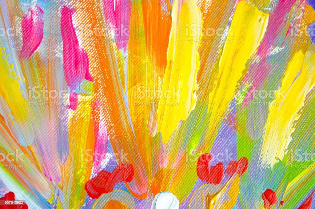 abstrakte kunst hintergrund acryl malerei auf leinwand farbtextur