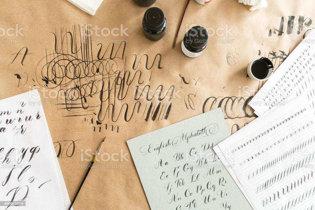 Image result for calligraphy stock photo