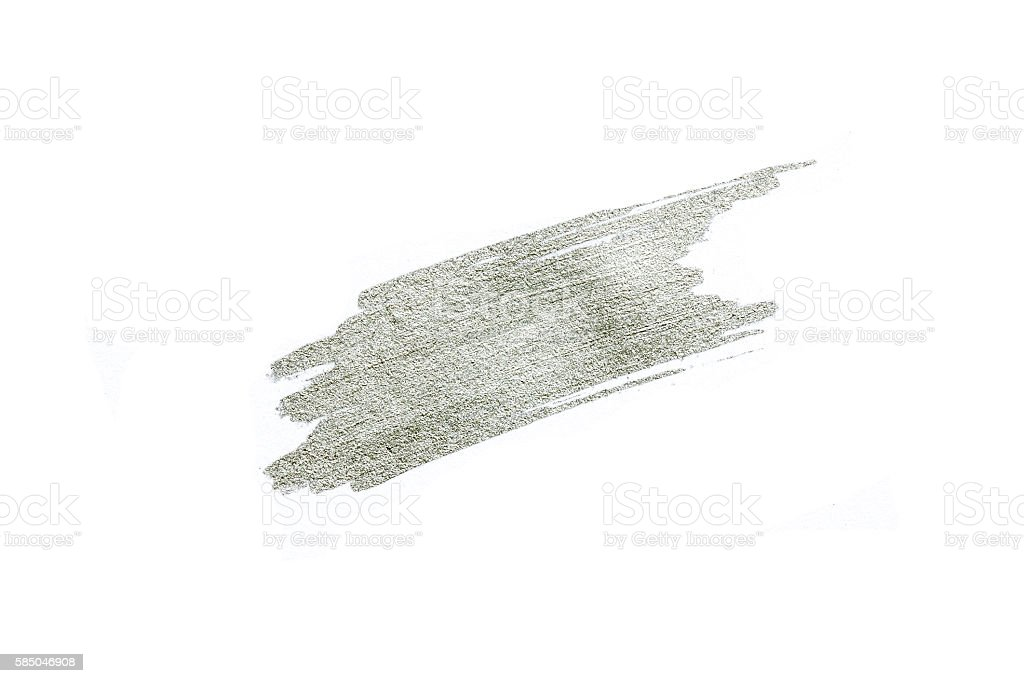 Hand drawn silver color texture stock photo