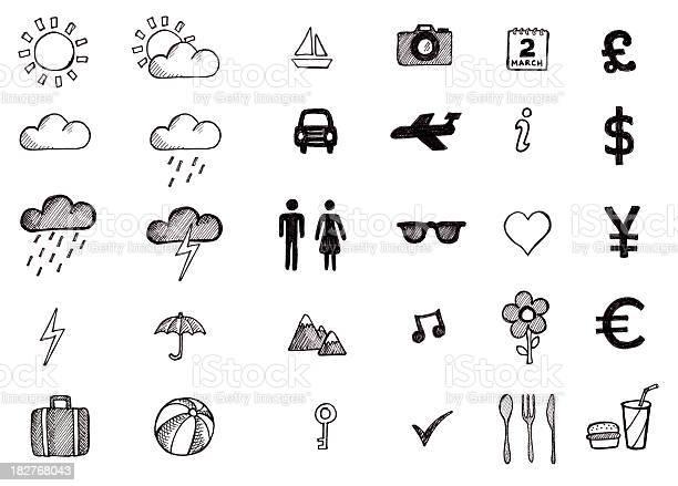 Hand drawn travel icons picture id182768043?b=1&k=6&m=182768043&s=612x612&h=1p7gfcegtqwmjnmf8 dq5mtasczl1trsm9os4a0remw=