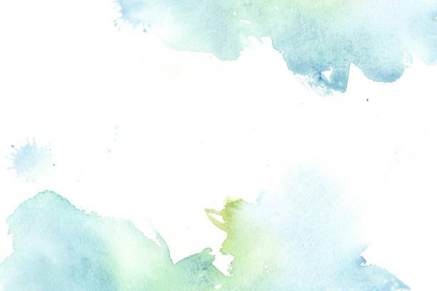 dessiné à la main aquarelle abstraite beau fond coloré - fond multicolore photos et images de collection