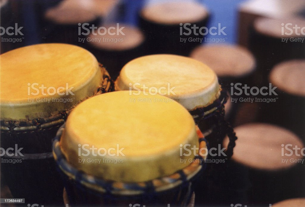 Hand Drums stock photo