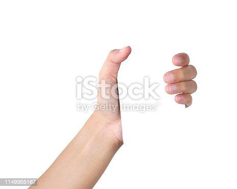 istock Hand gesture 1149955167