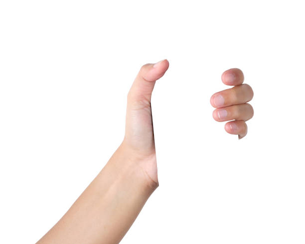 Hand gesture Hands holding something isolated with clipping path. bottle stock pictures, royalty-free photos & images