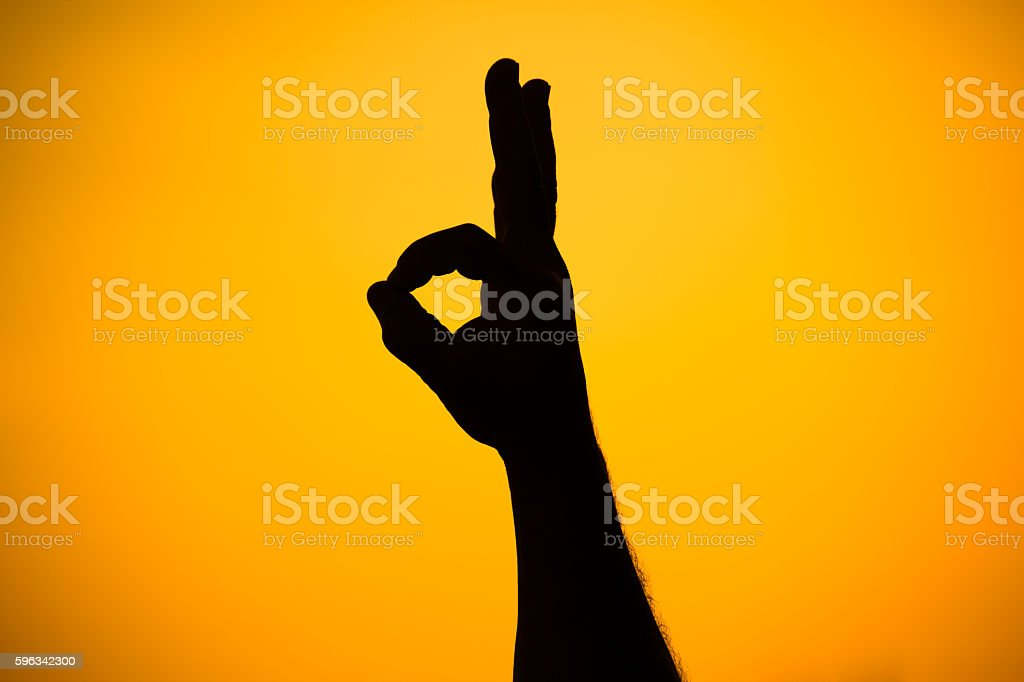 hand gestures royalty-free stock photo
