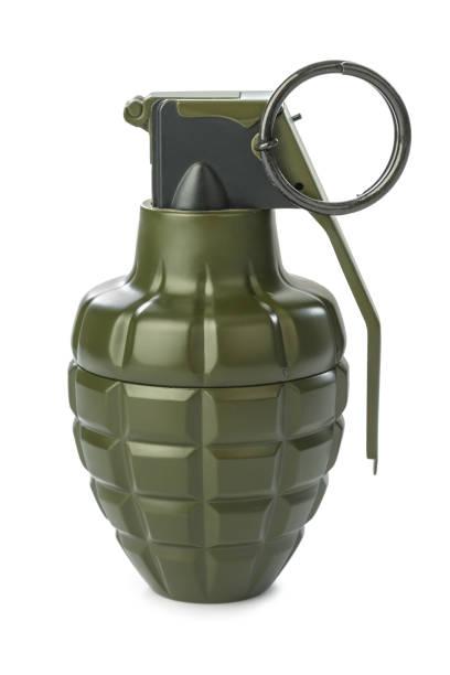 Hand grenade stock photo