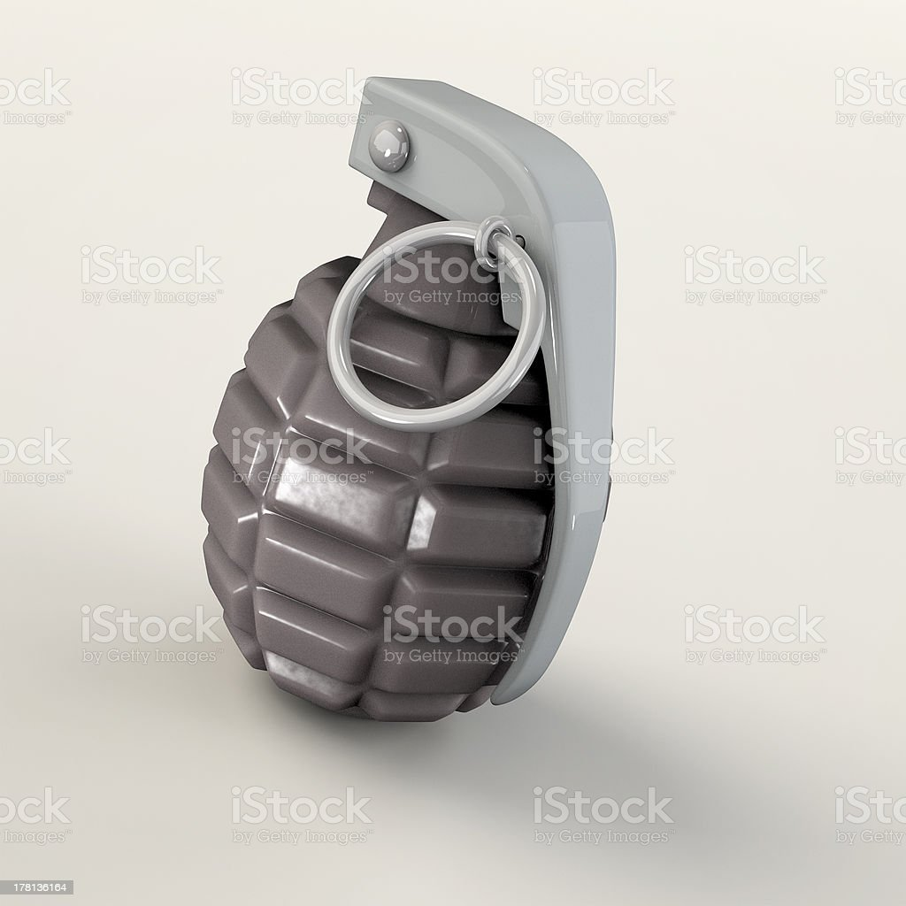 Hand Grenade royalty-free stock photo