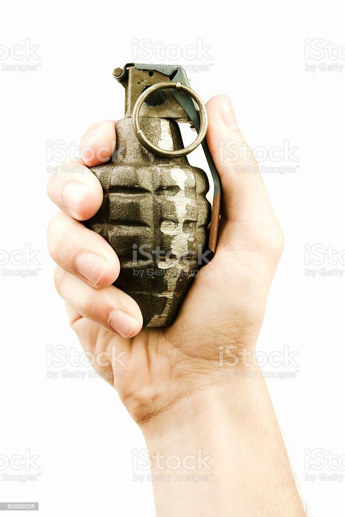 Hand Grenade royalty-free stock photo