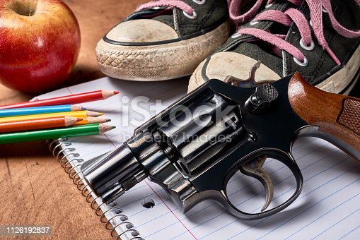 istock hand gun 1126192837
