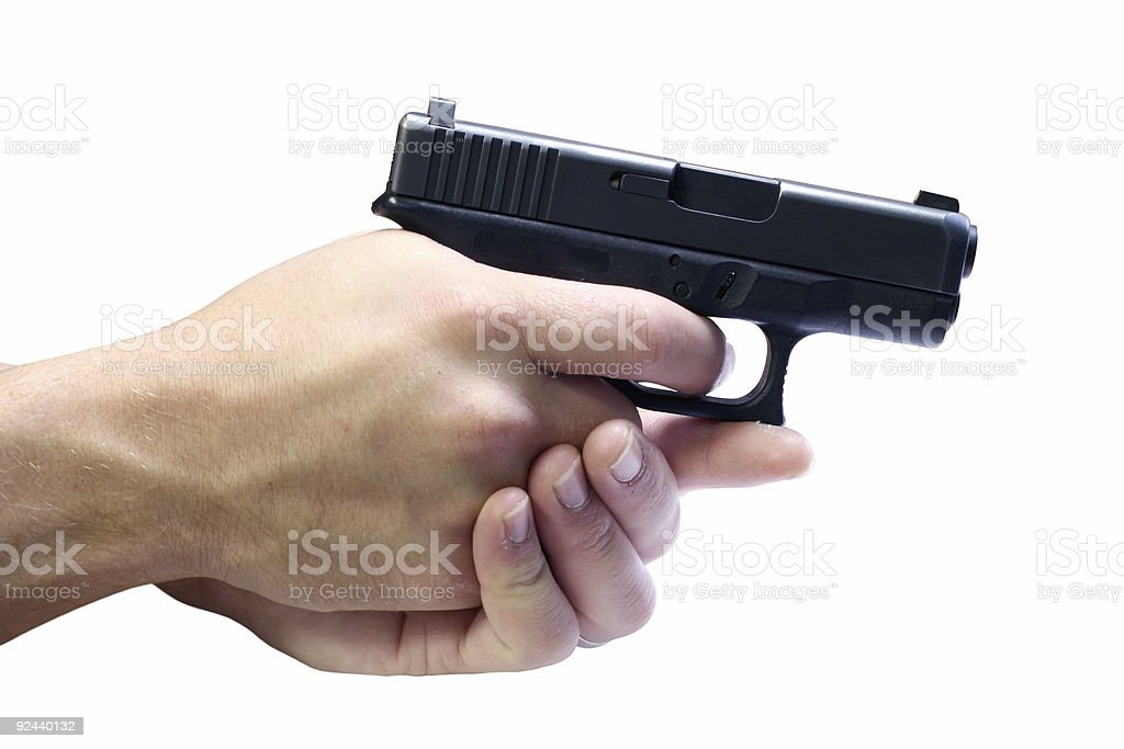Hand Gun royalty-free stock photo
