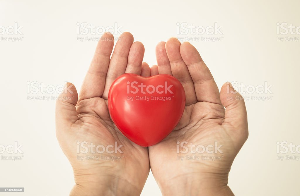 86fe5bb397cf7 Hand Holding A St Valentine Gift Stock Photo & More Pictures of ...