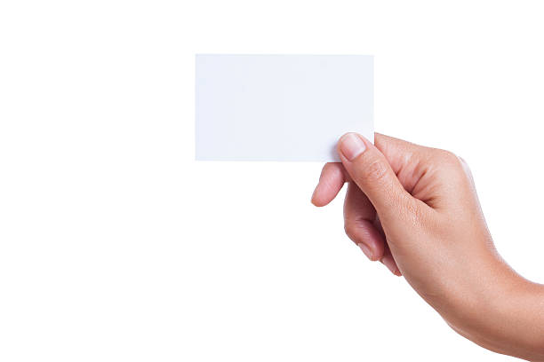 Technology Management Image: Royalty Free Hand Holding Card Pictures, Images And Stock