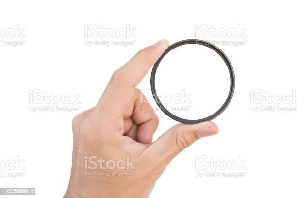 Hand holding clear camera filter isolated on white with clipping path picture id1005059918?b=1&k=6&m=1005059918&s=612x612&h=x3sey0o29z3l9m8jewv6mrk12li7cik0ezdoj5casrw=