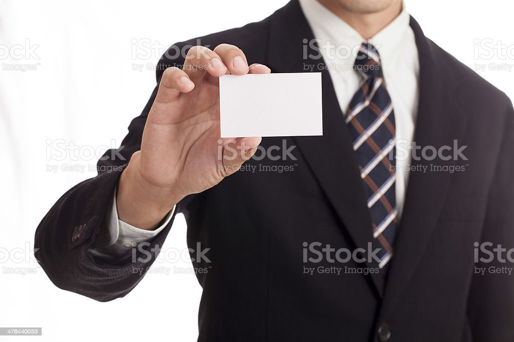 Hand holding credit card royalty-free stock photo