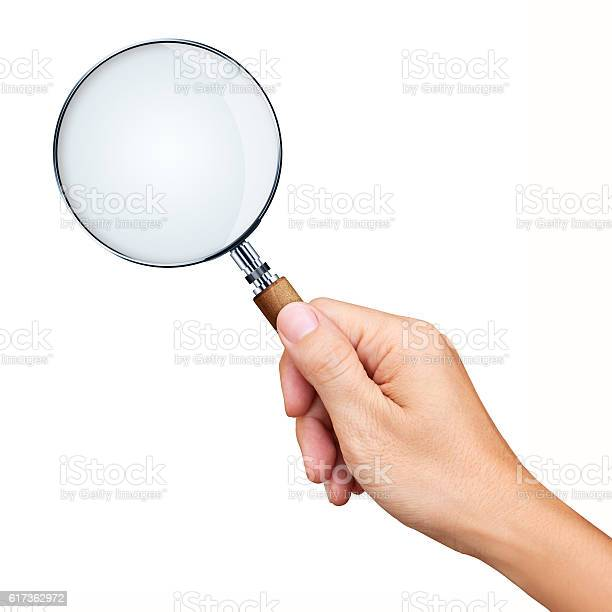 Hand holding magnifying glass isolated on white background picture id617362972?b=1&k=6&m=617362972&s=612x612&h=mmzebjkzsnzcckunagyib gbnynrc wvipbcyru6a3c=