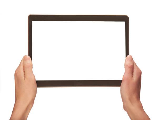 手持ち株の携帯電話 - タブレット端末 ストックフォトと画像