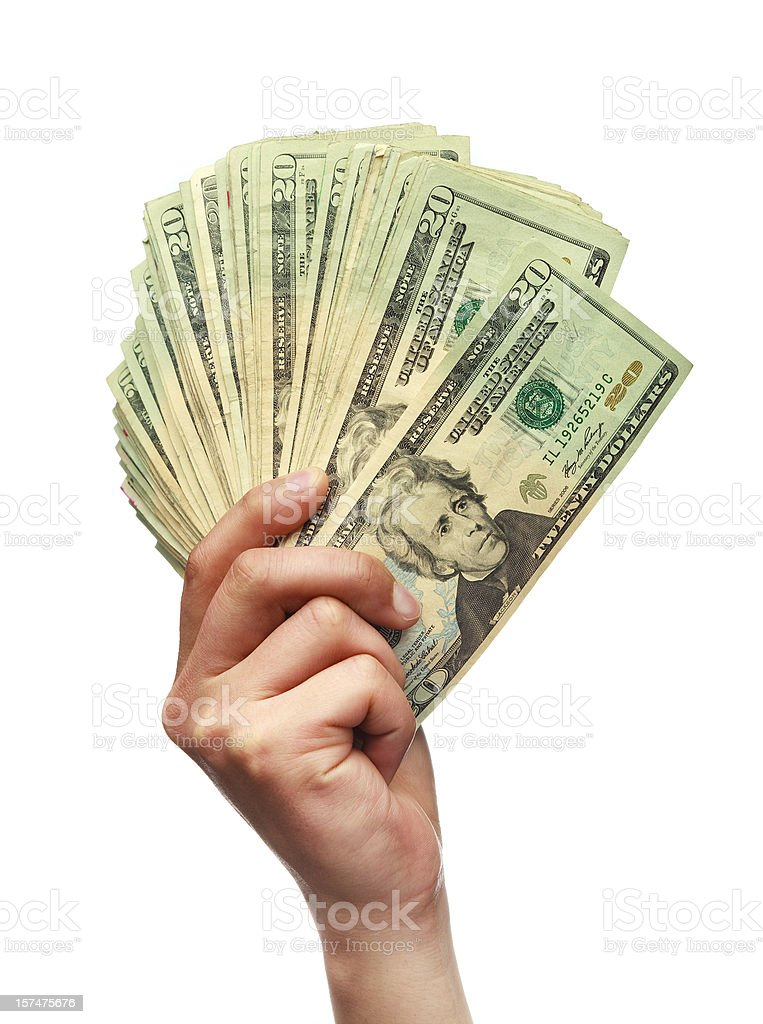 Hand Holding Money Stock Photo - Download Image Now - iStockHolding Money In Hand
