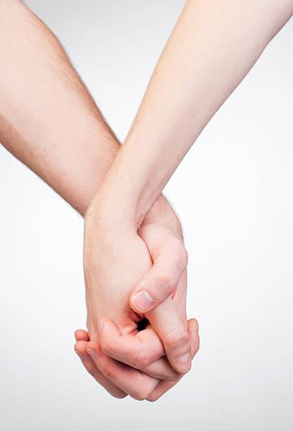 Hand holding stock photo