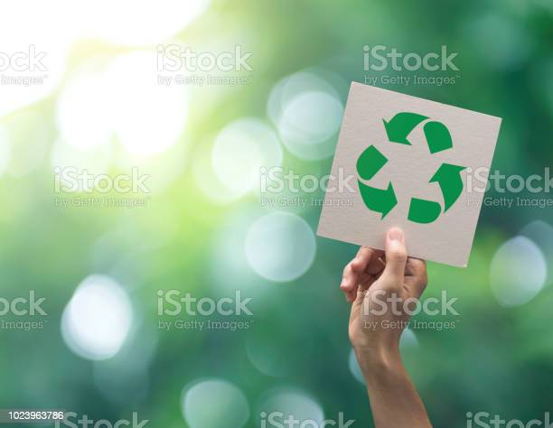 Hand holding recycle symbol on green bokeh background eco and save picture id1023963786?b=1&k=6&m=1023963786&s=612x612&h=d8mvr8i ydfjpfqblo1f4lxuwo6gw7p0cikmoca8xw4=