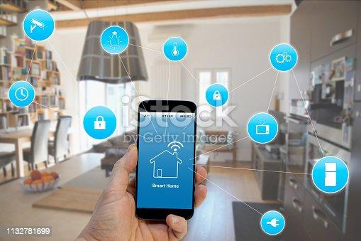 Smart Home concept,