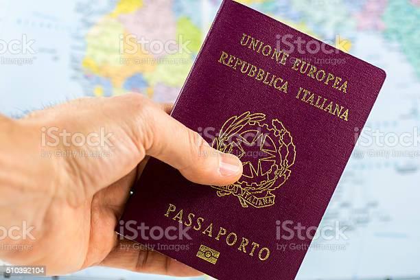 Hand holds an italian passport picture id510392104?b=1&k=6&m=510392104&s=612x612&h=8wjjgowhproc4ebfs1u3rwu7atwzfhytrkvqhkf ebg=
