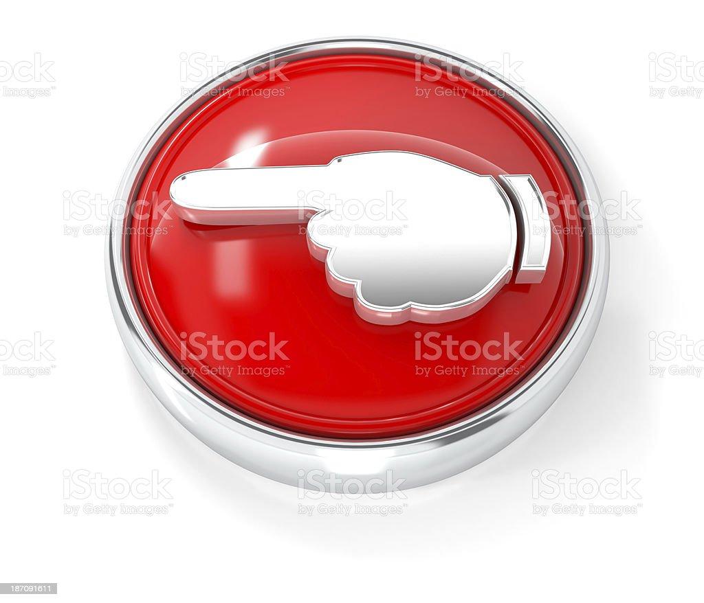 hand icon stock photo