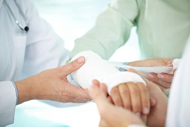Main à bandage - Photo