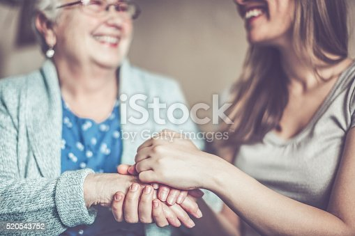 istock Hand in hand 520543752