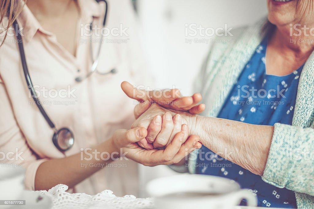 Main dans la main photo libre de droits