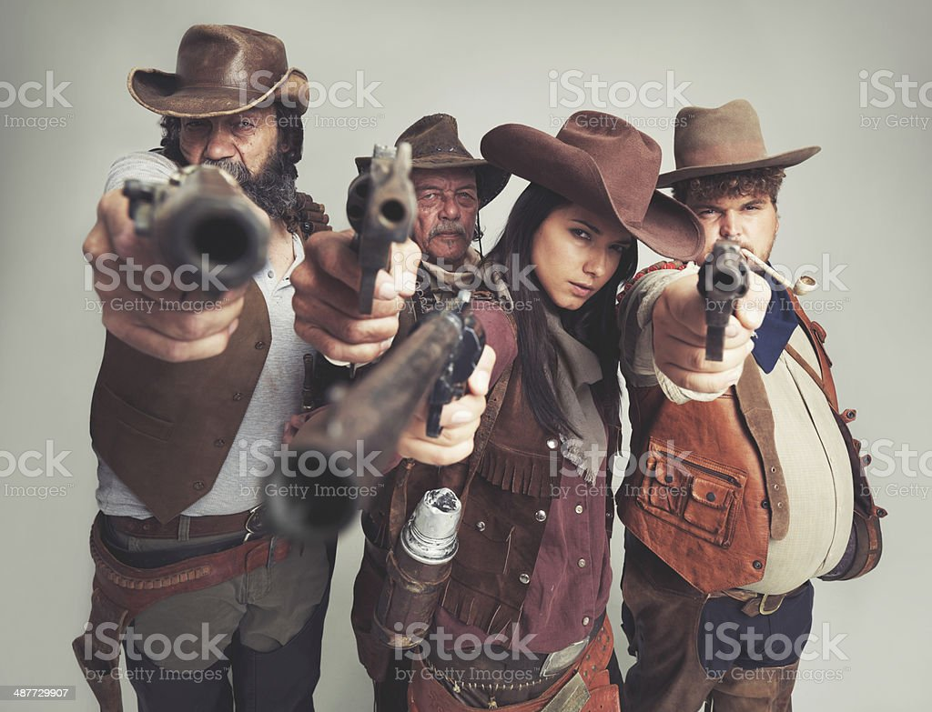 Hand it over...all of it. stock photo