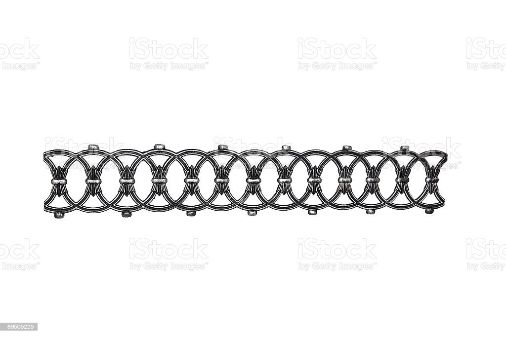 hand made iron ornament royalty-free stock photo