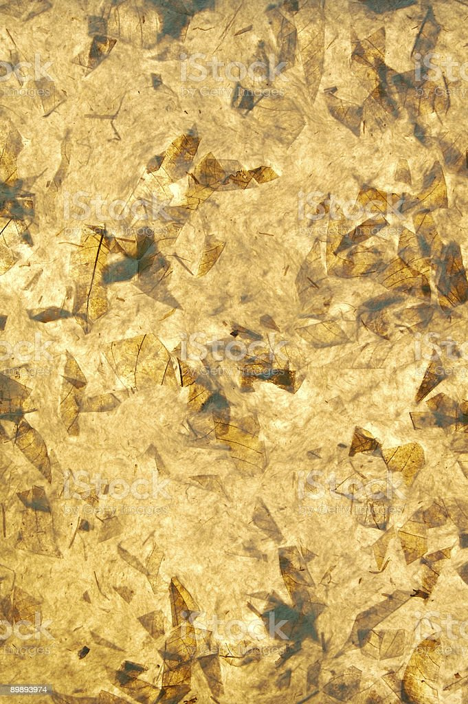 Hand made paper.... royalty-free stock photo