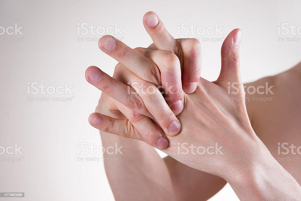 Hand Massage Lizenzfreies stock-foto
