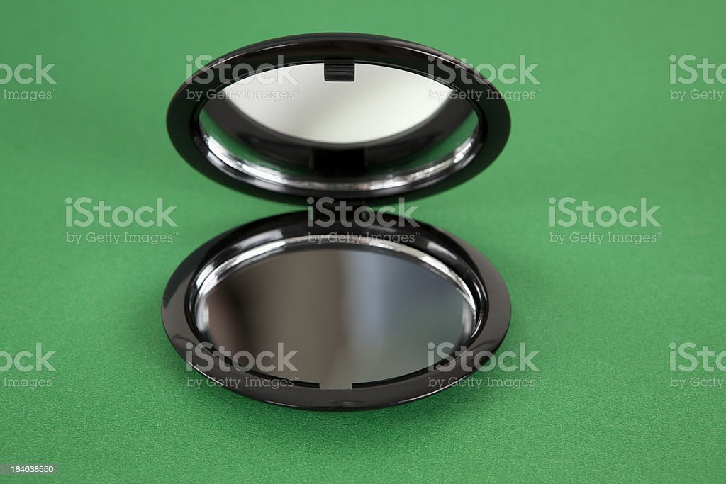 Hand Mirror stock photo
