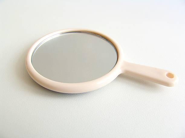 hand mirror - handspiegel stockfoto's en -beelden