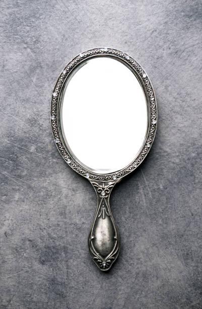 hand spiegel - handspiegel stockfoto's en -beelden