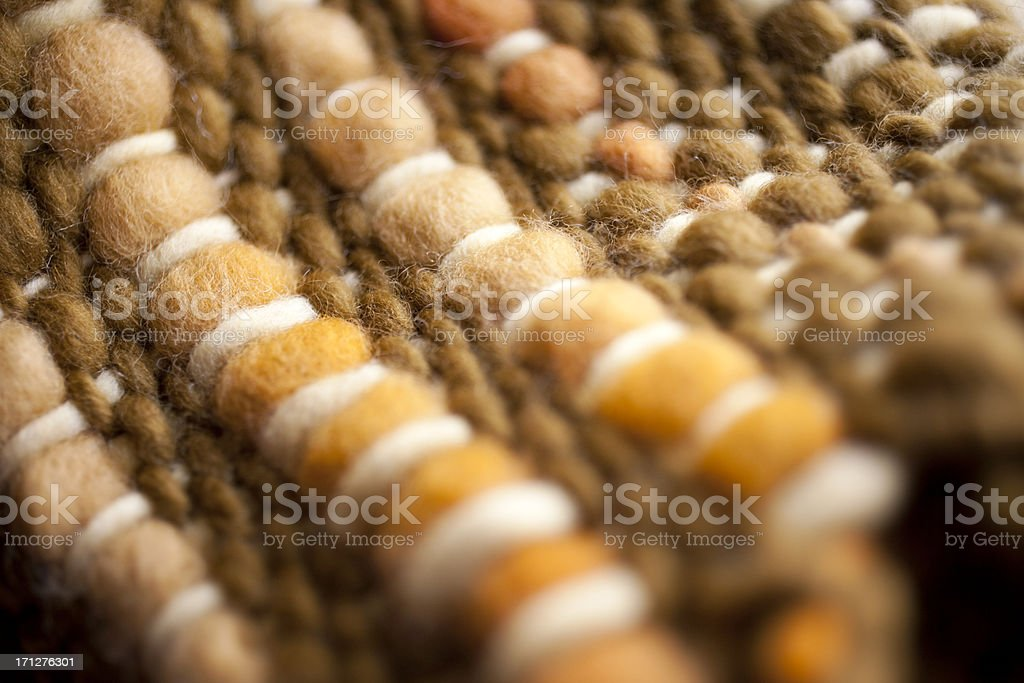 Hand net warm wool stock photo